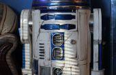 Led de R2D2 cómo batalla dañado R2 y añadir bajo costo audio n