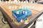 Servidor de la Web de Python para la frambuesa Pi