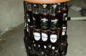 Convertir botellas de cerveza en muebles