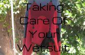 Cuidado traje