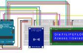 Arduino rfid leer y escribir en la pantalla lcd