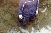 Botas de pescador, caseros alta botas/botas para caminar en agua