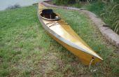 Puntada y pegamento Kayak