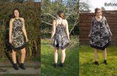 Rediseñado el vestido de la tienda de segunda mano