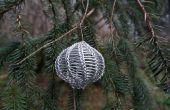 Cómo enseñar a tejer con alambre (y tal vez hacer un ornamento de la Navidad también)