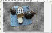 Agregar un fondo transparente usando GIMP