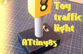 ATtiny85 juguete semáforo