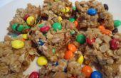 Las mordeduras caramelos coloridas