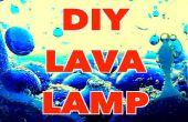 Cómo hacer una lámpara de Lava DIY