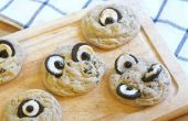 Globo ocular fácil galletas
