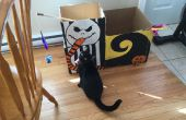 BRICOLAJE pesadilla antes de Navidad Cat House