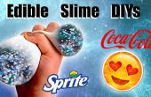 DIYs limo comestible: Limo Galaxy bola de la tensión de limo y limo Emoji contenedor