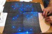 StarryNight: Circuitos de papel y Astronomía para niños!