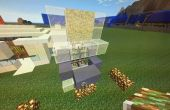 Puerta de Minecraft arena