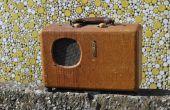 Reasignar un antiguo Radio en una cadera Bluetooth altavoz portátil