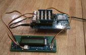 Intel Edison/Arduino temperatura exhibición con el contraluz momentáneo
