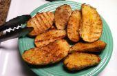 Rápido y fácil a la parrilla patatas