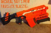 Nerf Nstrike Elite demoledor misil lanzador Mod