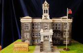 Escala modelo de edificio histórico: Palacio de justicia