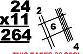 Cómo multiplicar por 11 rápidamente