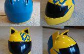 Celty Cosplay casco modificación