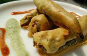 Rajasthani Mirchi Vada / Mirchi ke Pakode / receta de buñuelos de