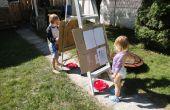 Rápido y sucio caballete para niños
