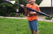 Mano aire comprimido pistola/lanzador