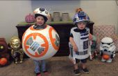 BB-8 y R2-D2 - disfraces de Halloween niño Star Wars