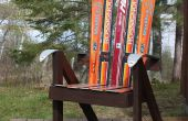 Construir una silla de césped de reciclado de agua - la silla de esquí!