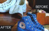 Teñir zapatillas Converse con tinte de Venus