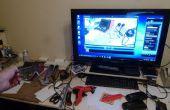 Modificar bricolaje gafas / gafas con una cámara web para grabar Video