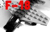 LEGO Mini F-18 y Torre de Control