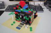 Construir una casa embrujada con Lego y la faya-pepita