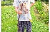 Cómo hacer un arco y flecha