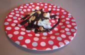 Menta Chocolate Brownie Sundae sensacional