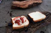 Cómo hacer montaña empanadas   Sándwiches de fogata