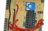 Interfaz de LCD de 2 hilos para Arduino o Attiny (actualizado junio de 2016)