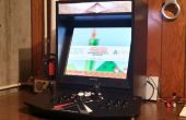 Frambuesa Pi impulsado máquina Arcade de la tapa de la barra