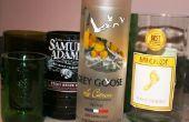 Cómo Upcycle sus vacaciones de vidrio botellas de