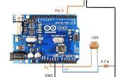 Luces de calle de auotmatic control con LDR y Arduino