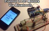 Control de motores DC con tu Smartphone (perfecto para un Robot)