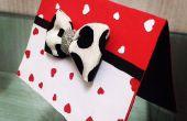 Tarjeta de día de San Valentín DIY