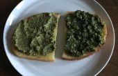 Rampa de Pesto y Pesto de albahaca rampa