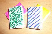Libros de origami miniatura