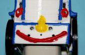 Cuerpo impreso 3D para el robot BOE-Bot de Parallax...