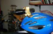 Ajustable de esquí y bicicleta casco montaje para linterna
