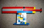 Hacer un arma fácil de Lego.