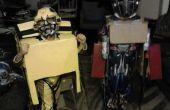 Transformación de Optimus Prime y Bumblee Bee trajes 2011