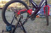 Bomba de bicicleta portátil